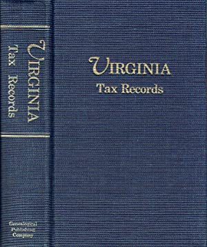 Virginia Tax Records from the Virginia Magazine