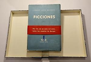 Ficciones (1935-1944). Excelente ejemplar: Borges, Jorge Luis