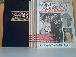Bild des Verkäufers für Königliche Romanzen Hefte 3, 4, 5, 6, 7, 9, 10, 11, 13, 14, 15 11 Hefte in einem Schuber zum Verkauf von Antiquariat Ardelt