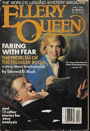 ELLERY QUEEN Mystery Magazine: April, Apr. 1988: Ellery Queen (Edward
