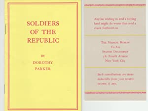 Soldiers of the Republic: Parker, Dorothy