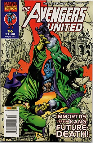 The Avengers United #16 - 31st July 2002 - (The Destiny War: Part Two) Marvel Collectors' Edition.