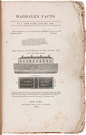 MAGDALEN FACTS. No. 1. NEW YORK, JANUARY, 1832 [all published]