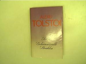 Aelita - Geheimnisvolle Strahlen,: Tolstoi, Alexej und