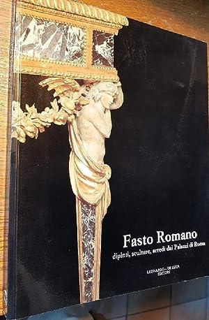 FASTO ROMANO-DIPINTI, SCULTURE, ARREDI DAI PALAZZI DI: Gonzales Palacios Alvar