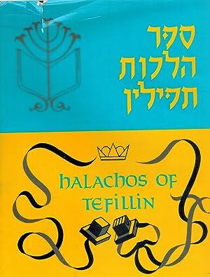 HALACHOS OF TEFILLIN: Rabbi Shimon D.