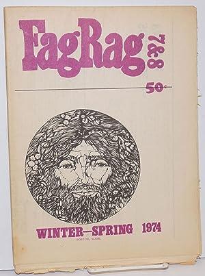 Fag Rag: a gay male newspaper; #7: Abbott, Steven, Michael