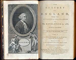 The History of England, from the invasion of Julius C�sar to the revolution in 1688. In five vo...