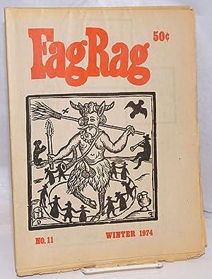 Fag Rag #11, Winter 1974; Stone Age: Abbott, Steven, Arthur