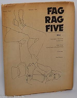 Fag Rag: a gay male newspaper; #5: Isherwood, Christopher, Arthur