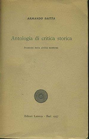 Antologia di critica storica: Armando Saitta
