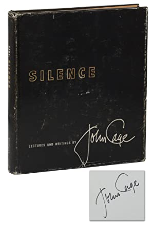 Silence: Lectures and Writings (Ihab Hassan's Copy)