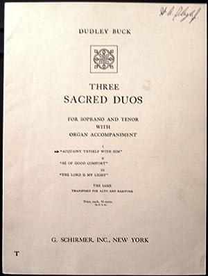 Acquaint Thyself with Him (Job 22) Soprano: Buck, Dudley