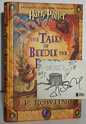 THE TALES OF BEEDLE THE BARD (SIGNED: J.K. Rowling