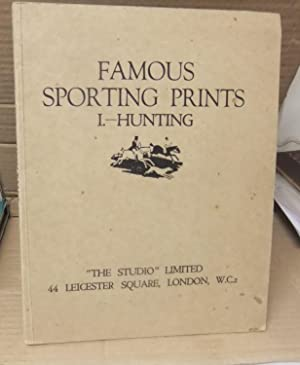 FAMOUS SPORTING PRINTS NO1 HUNTING