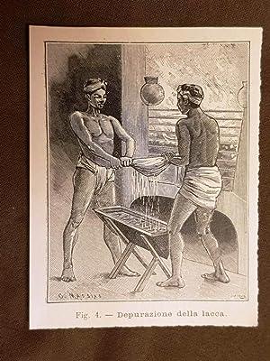 Immagine del venditore per In Giappone nel 1896 La preparazione della lacca colorata La depurazione venduto da LIBRERIA IL TEMPO CHE FU