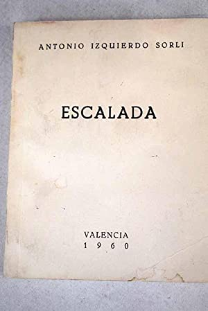 Imagen del vendedor de Escalada a la venta por Alcaná Libros