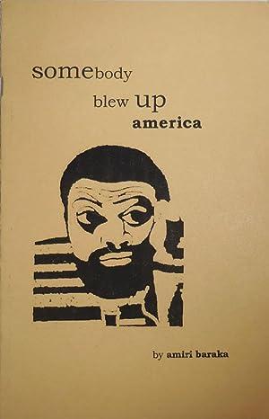 somebody blew up america (Signed): Baraka, Amiri