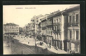 Postal Zaragoza, Coso, parte alta