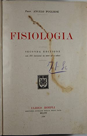 Fisiologia: Pugliese Angelo Prof.