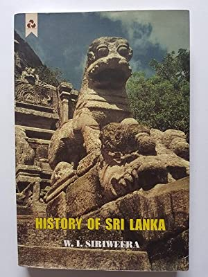 History of Sri Lanka - from Earliest Times Up to the Sixteenth Century