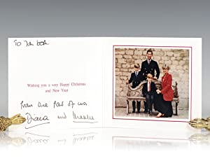 Princess Diana and Prince Charles Signed Christmas: Diana, Princess of