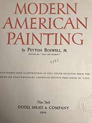 Modern American Painting