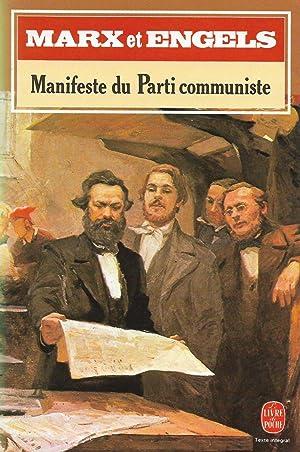 Manifeste du Parti Communiste, suivi de Critique: MARX, Karl, ENGELS,