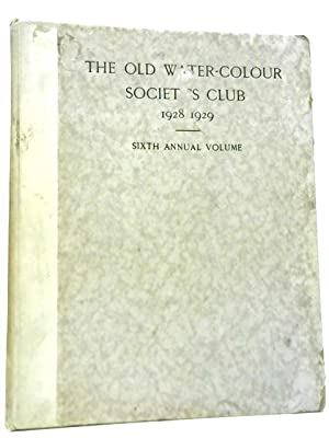 The Old Water-Colour Society's Club 1928 -: Randall Davies