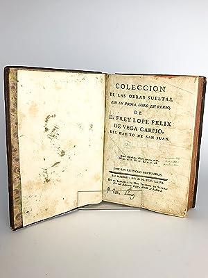 COLECCIÓN DE LAS OBRAS SUELTAS DE D.: LOPE DE VEGA.