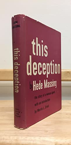 Seller image for This Deception for sale by Avol's Books LLC