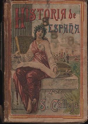 NOCIONES DE HISTORIA DE ESPAÑA Nueva edición: CALLEJA FERNANDEZ, SATURNINO