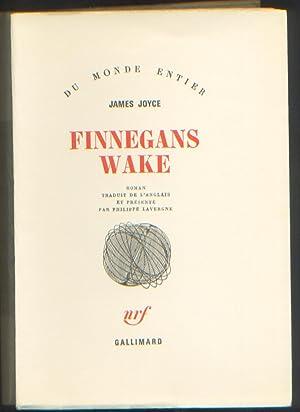 """Finnegans Wake. Traduit de l """"anglais"""" et: Joyce (James)"""