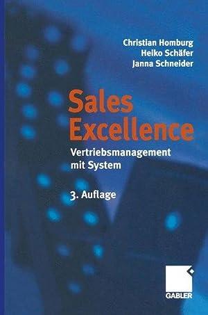 Sales Excellence: Vertriebsmanagement mit System: Homburg, Christian, Heiko