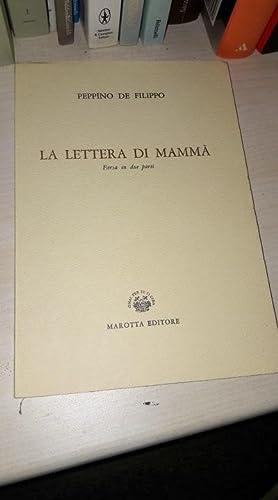 La lettera di mammà - farsa in: Peppino De Filippo