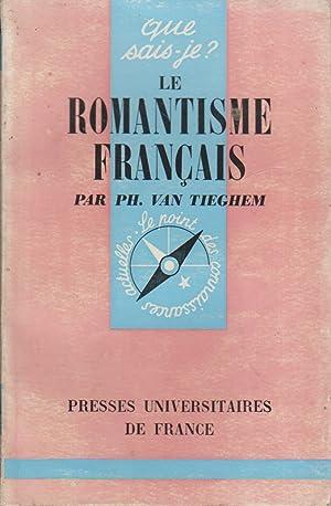 Le romantisme français.: VAN TIEGHEM Philippe