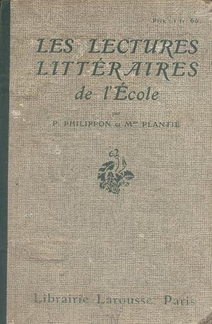 Les lectures littéraires de l'école. Cours moyen: PHILIPPON Paul -