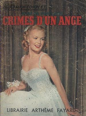 Crimes d'un ange.: PONT-JEST René de