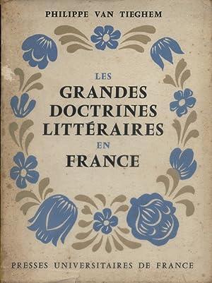 Les grandes doctrines littéraires en France. De: VAN TIEGHEM Philippe