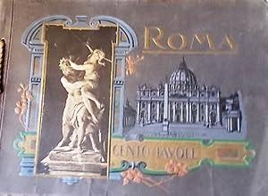 Cento tavole. Vedute, pittura, scultura. Vers 1950.: RICORDO DI ROMA