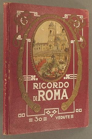 Ricordo di Roma. 30 vedute. 30 photographies: RICORDO DI ROMA