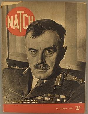 Match N° 85 : Major Mac Naughton: Collectif : MATCH