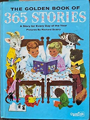 THE GOLDEN BOOK OF 365 STORIES: A: Jackson, Kathryn, Pictures