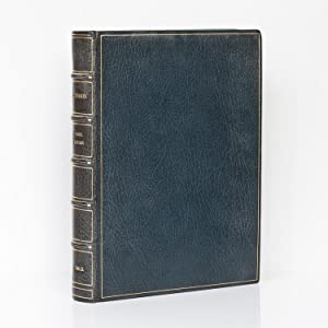 Cosmos. [UK first edition in a full-leather: SAGAN, Carl.