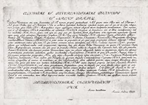 "Celsissime et Reverendissime Princeps et Archi Praesul"": Kleiner, Salomon (1700-1761):"