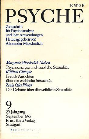 Heft 9. Psyche  23 Jahrgang 1969