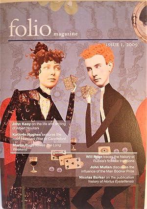 Folio Magazine: Issue 1, 2009