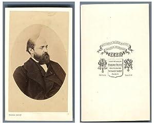Pierre Petit, Paris, Henry Murger, écrivain.: Photographie originale /