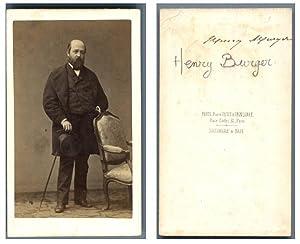 Henry Murger, écrivain: Photographie originale /