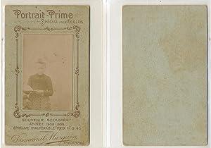 Dusmenil, Vincennes, souvenir scolaire 1908: Photographie originale /